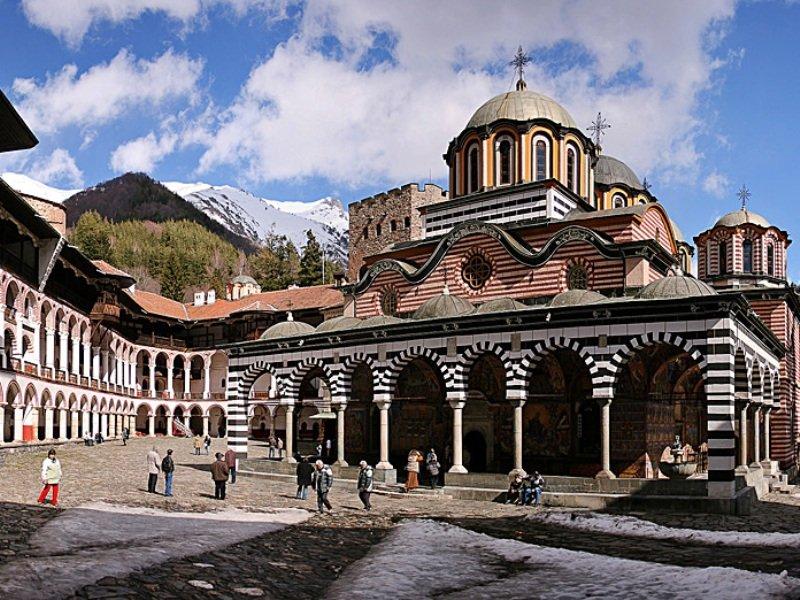 Le monastère de Rila