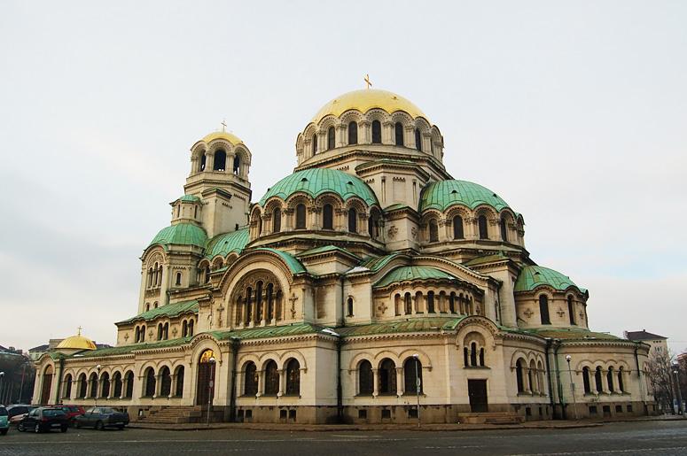 Temple monument Saint Alexandre Nevski