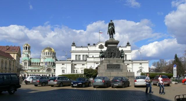 Sofia-parliament-square