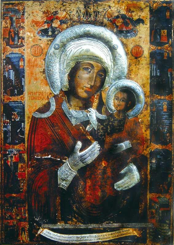 икона Bogoroditsa_Portaitisa - Роженски манастир