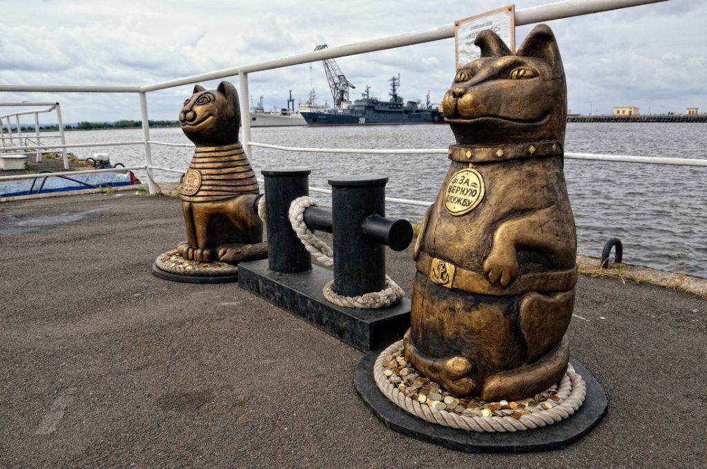 kronstadt-pametnik na morski kotki
